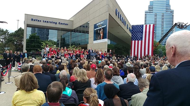 C-SPAN - Gerald R. Ford Presidential Museum grand reopening in Grand Rapids Michigan, Future Media Corp.
