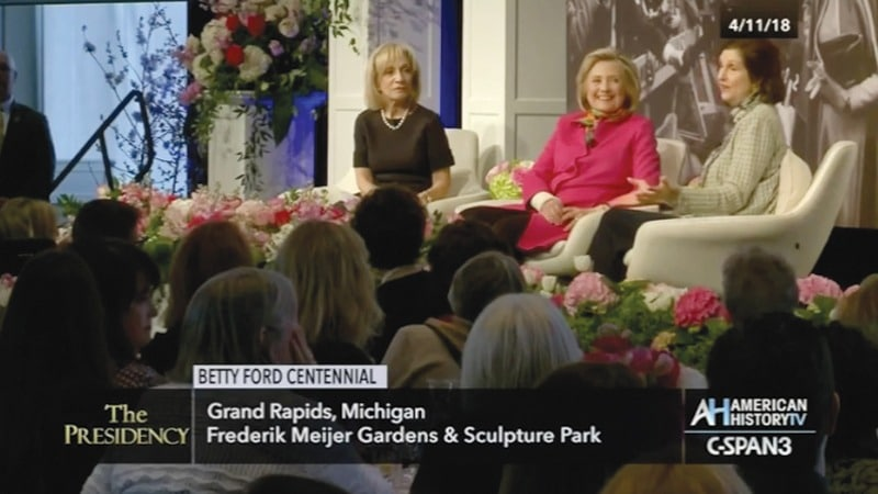 C-SPAN - Betty Ford Centennial - Grand Rapids Michigan