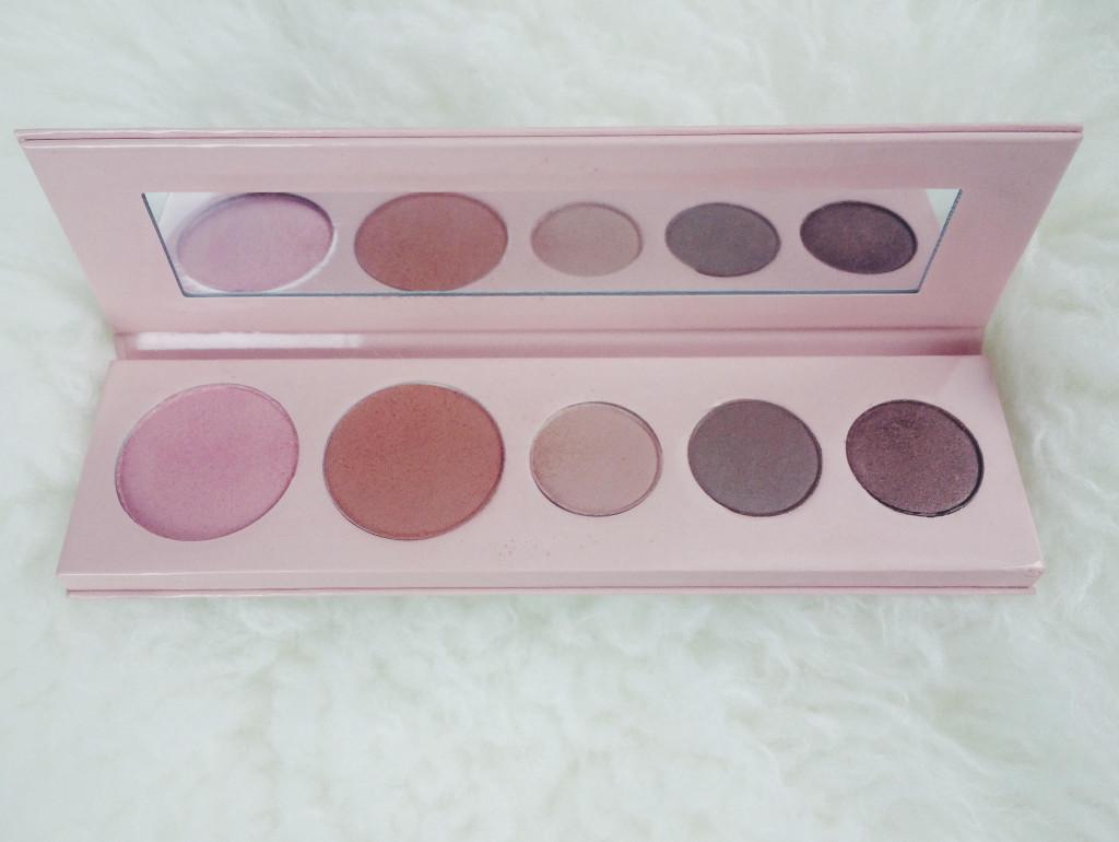 100 percent pure makeup pallette