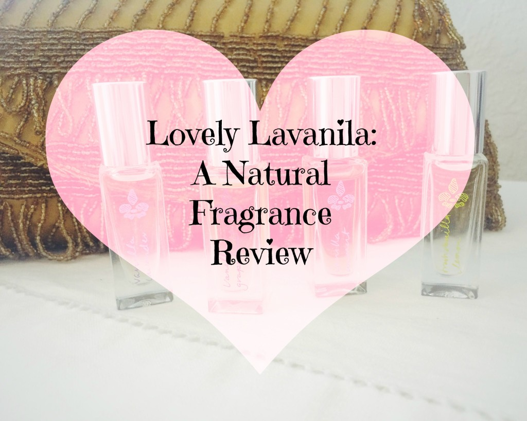 Lovely Lavanilla: A Natural Fragrance Review