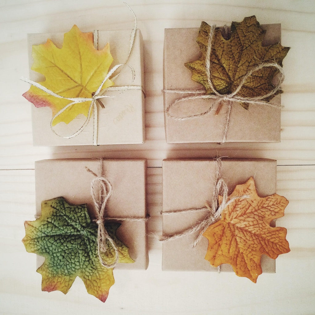 Fall themed gifts perfect for Thanksgiving