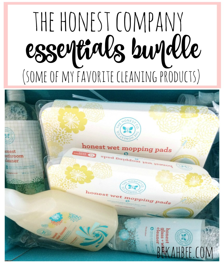 The honest company essentials bundle: some of my favorite cleaning products
