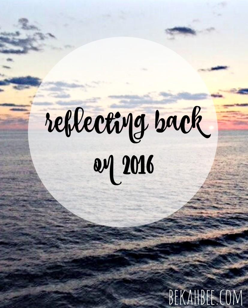 Reflecting Back on 2016