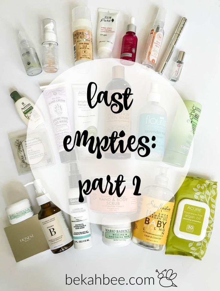 last empties: part 2