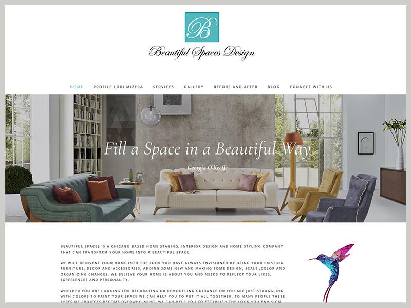 website design interior design