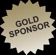 Gold sponsor starburst