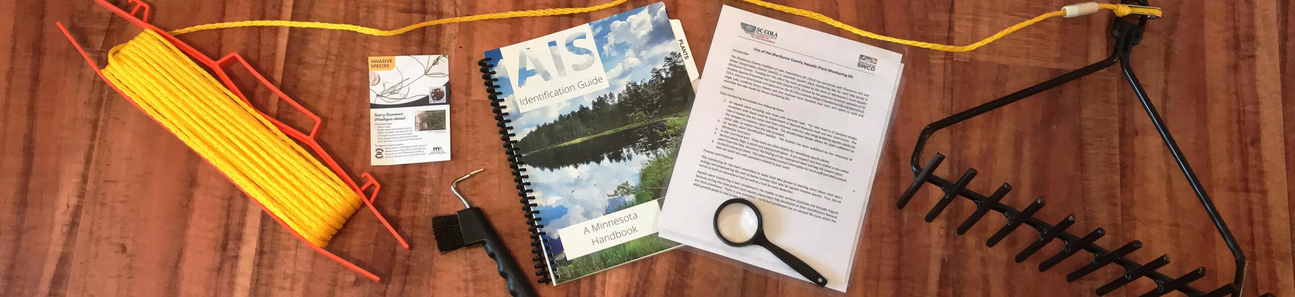 Aquatic Invasive Species rake kit