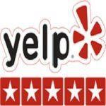 YELP LOG WITH LINKED PAGE
