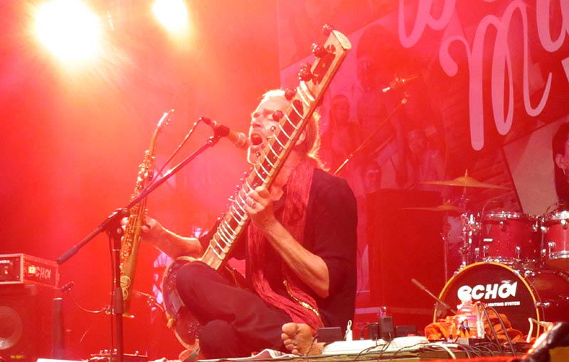 Prem Joshua performing on the first night. Photo: Chris Ashton