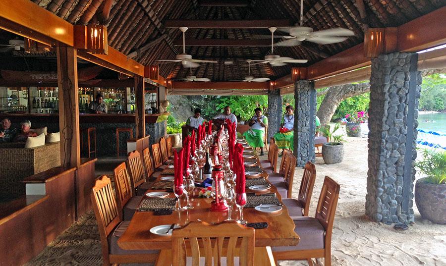 The resort's main dining area.Photo: Chris Ashton