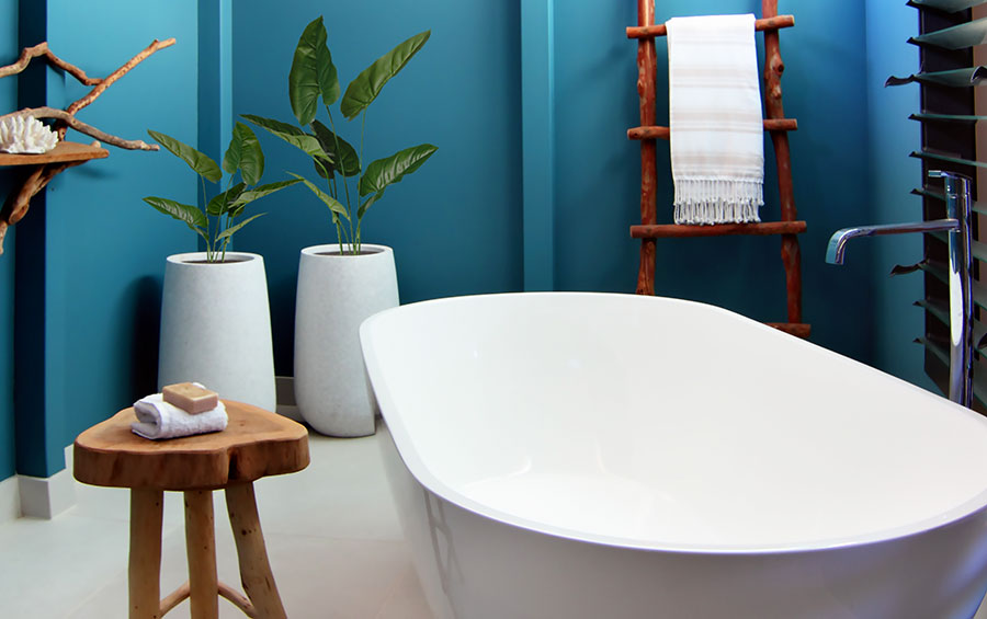 Beachside Villa bathroom. Photo: Accor Hotels