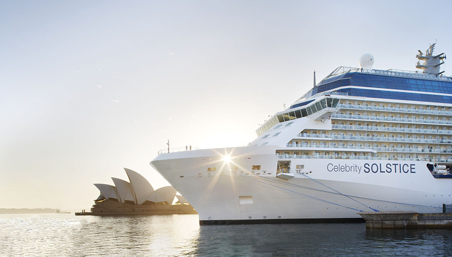 Celebrity Solstice. Image: Richard Birch