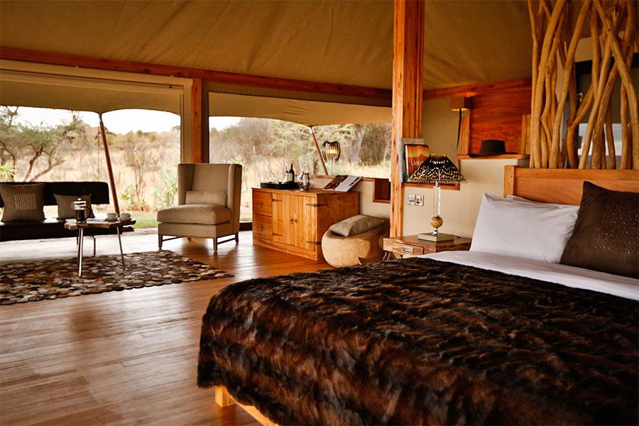 Loisaba Tented Camp. Photo: Minor Hotels