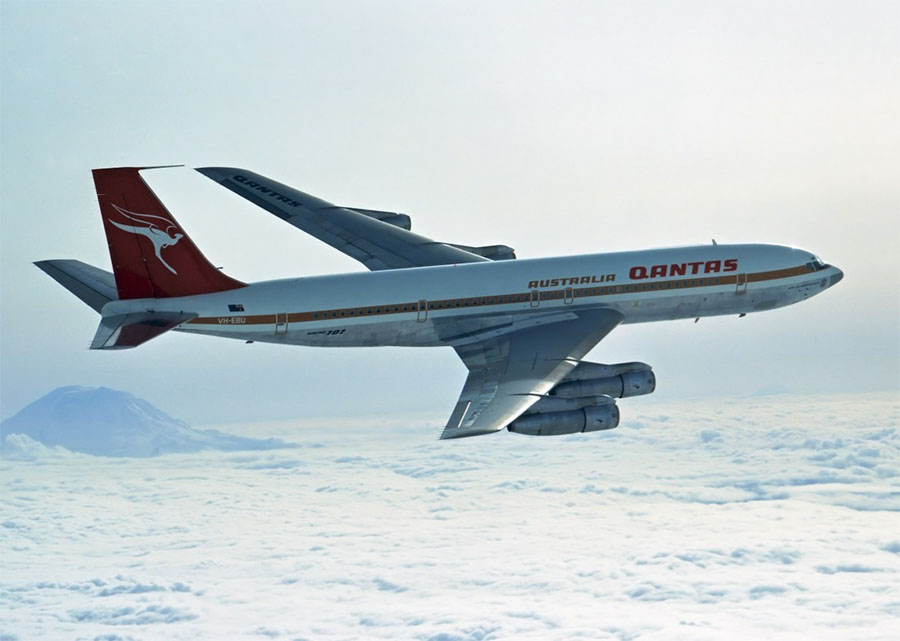 One of the classic Qantas liveries. Photo: Qantas