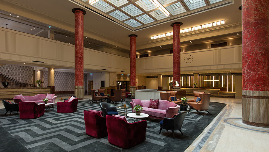 Lobby at the Primus Hotel Sydney
