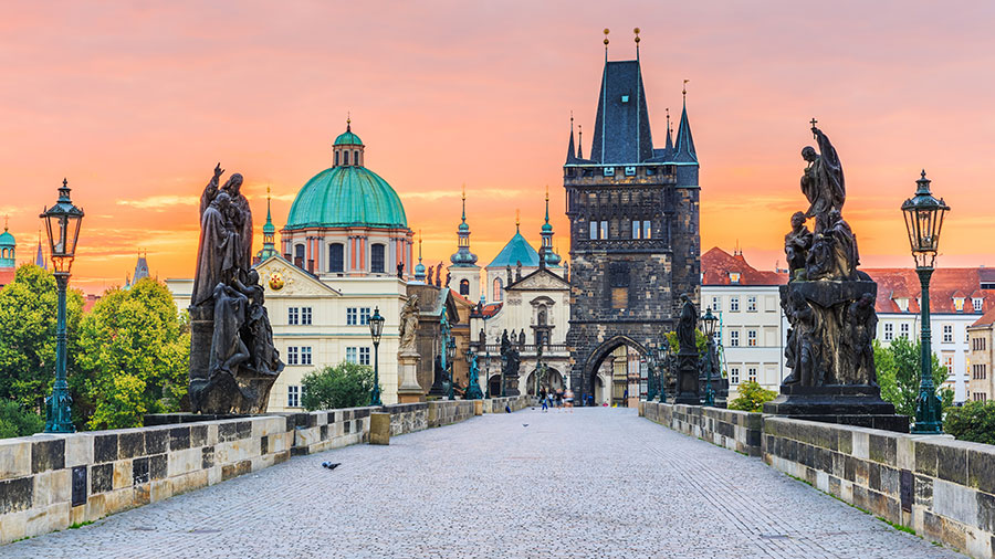 Charles Bridge in Prague, Czech Republic. Supplied.