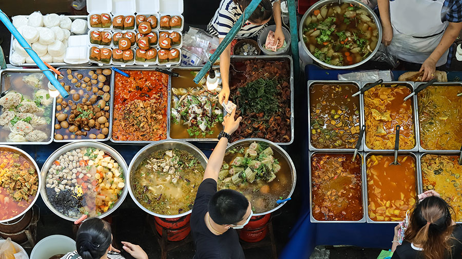 Street food in Bangkok. Supplied.