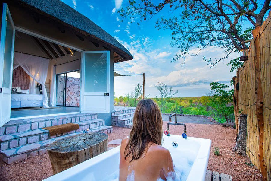Nantwich Eco Lodge, Hwange, Zimbabwe. Credit: Supplied.