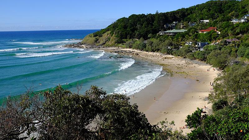Wategos Beach. Photo: Chris Ashton