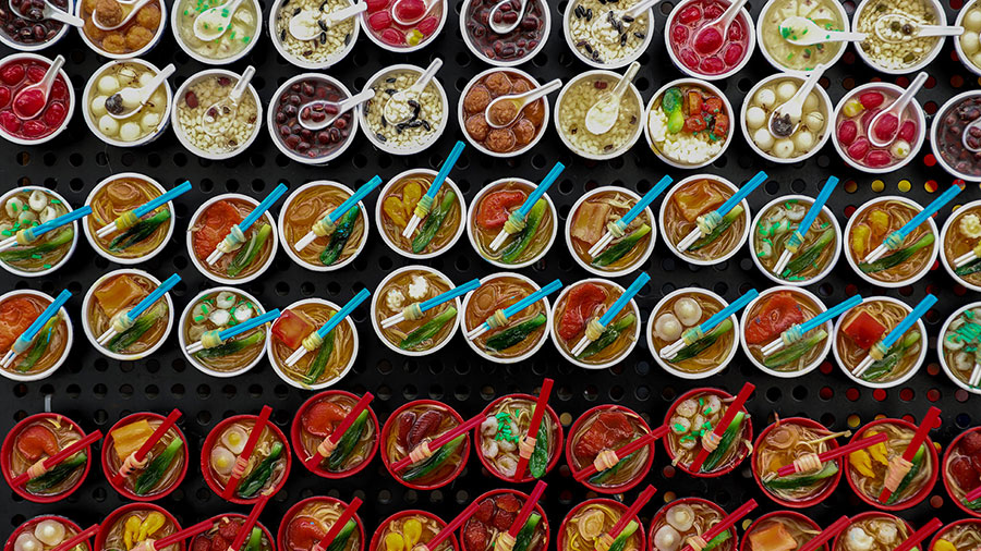 Colourful hawker centre dishes. Credit: Jefferton James / Supplied.