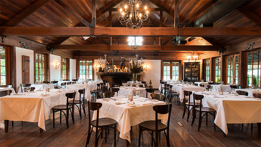 Circa 1876 restaurant in the Hunter Valley. Credit: Circa 1876