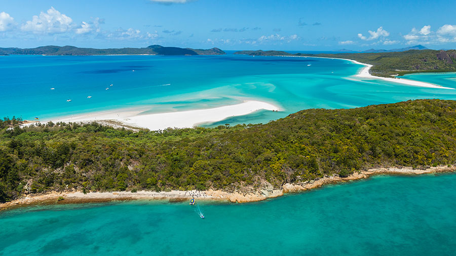 Hill Inlet. Credit: Tourism Whitsundays