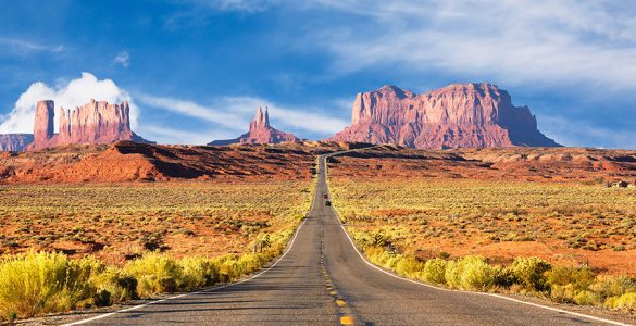 Monument Valley on the Arizona-Utah border. Image: Supplied