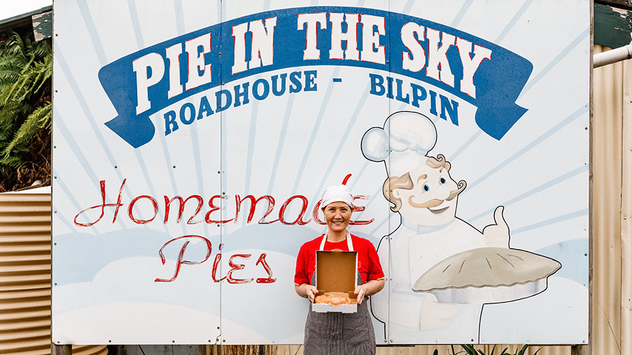 Pie in the Sky Roadhouse, Bilpin. Credit: Supplied