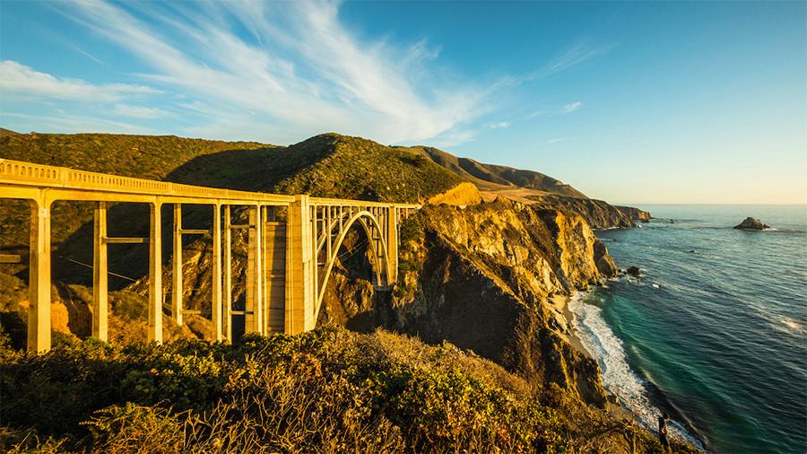 Bixby Bridge. Photo: Visit California/Myles McGuinness