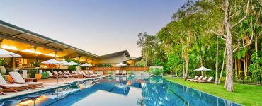 Byron at Byron's stunning resort pool. Credit: Crystalbrook Collection