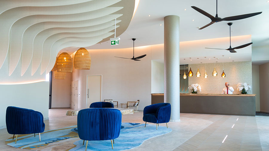 The lobby at Rydges Gold Coast Airport