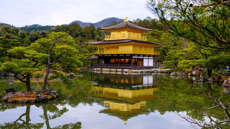 Kinkakuji Golden Pavilion, Kyoto