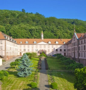 Hotellerie du Couvent, Oberbronn, France. Credit: monasteries.com