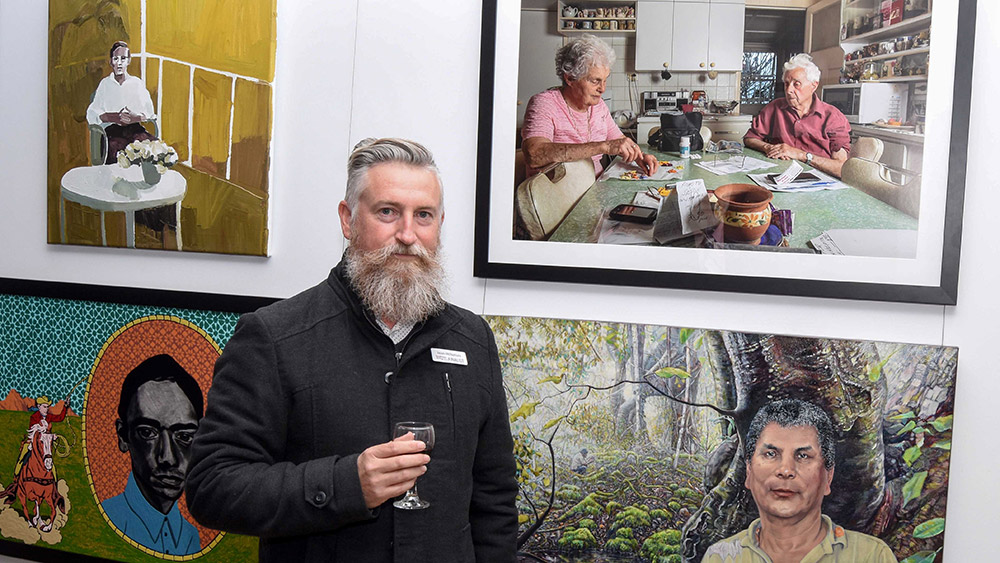 2018 Stanthorpe Art Prize  winner Jason McNamara. Supplied