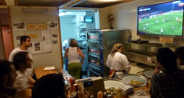 Giuseppe Pizza: Superb Slices In Tel Aviv's Florentine Neighborhood