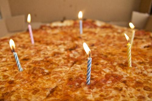 Happy 5 Year Anniversary To IDreamOfPizza