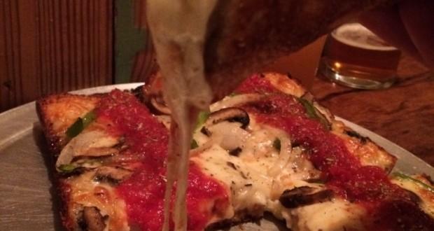 Detroit Style Pizza @ Via 313 In Texas