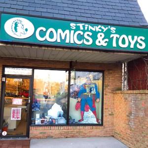 Stinkys Comic & Toys