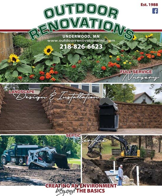 Outdoor Renovations Brochure