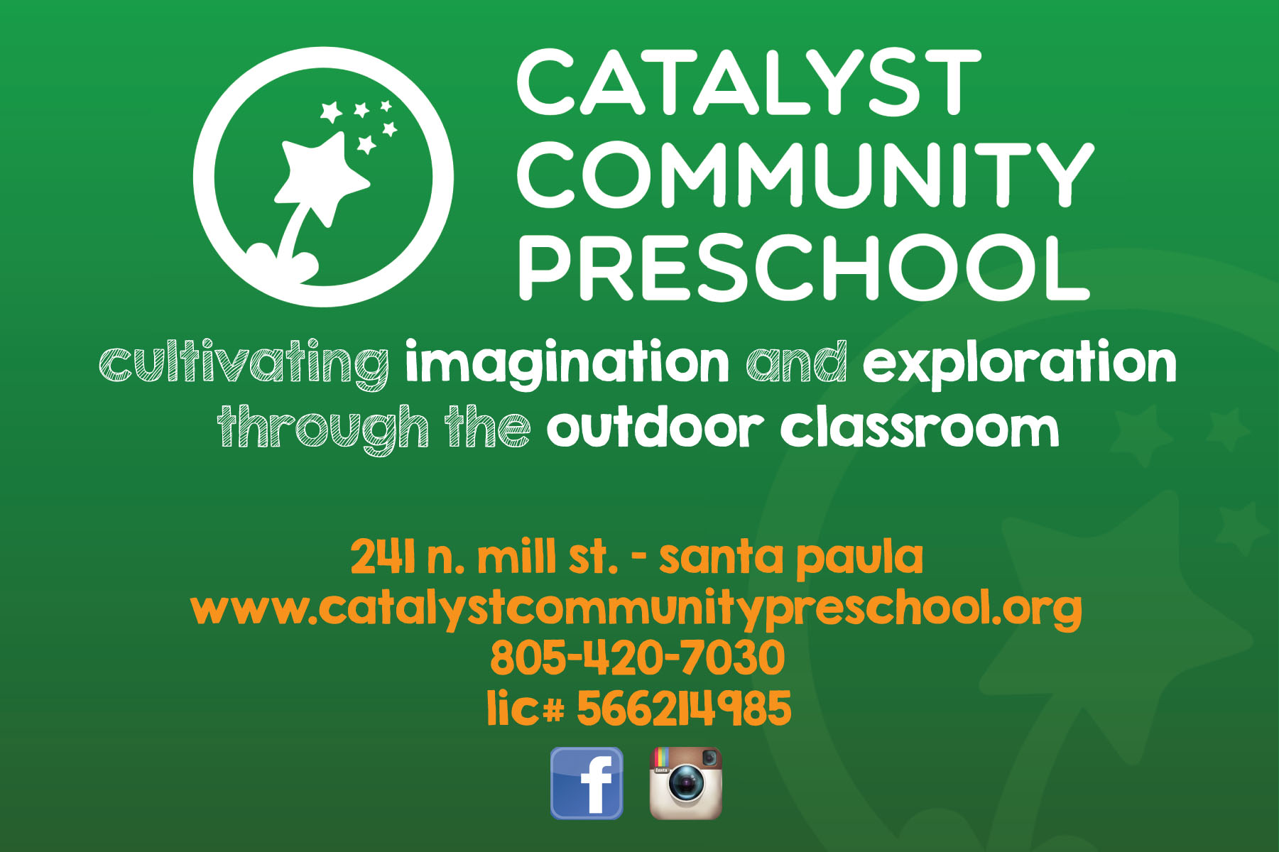 Catalyst Community Preschool Santa Paula