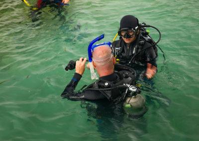 Diving 9