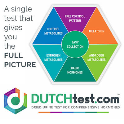 DUTCH complete hormone test with consultation