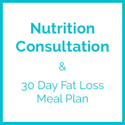 Nutrition consultation with 30 day fat loss meal plan