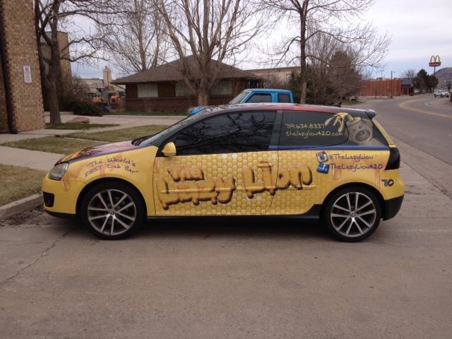 Fleet car wrap big dog wraps