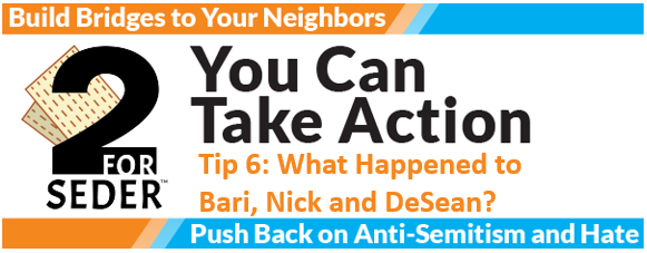 Action Tip 6: What Happened to Bari, Nick and DeSean?