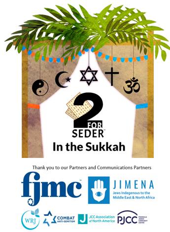 2 for Seder: In the Sukkah