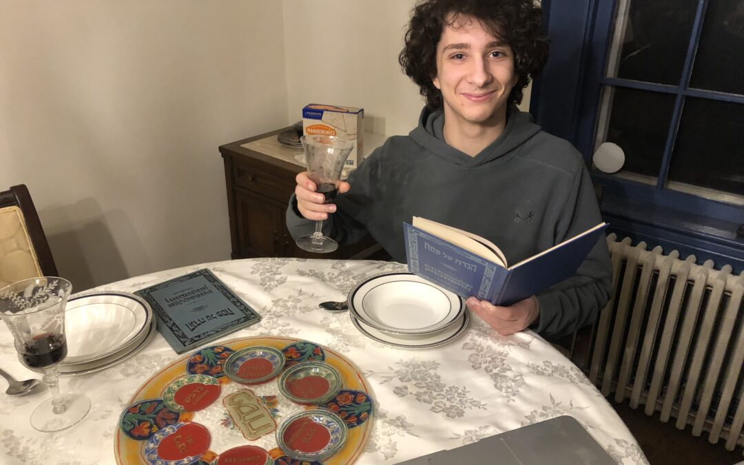 A Teen's Adventures with 2 for Seder