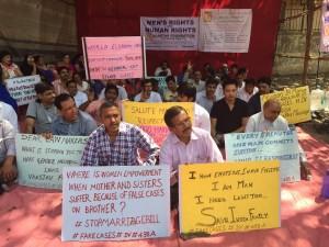 Dharna @Azaad Maidaan, Mumbai March 7, 2015