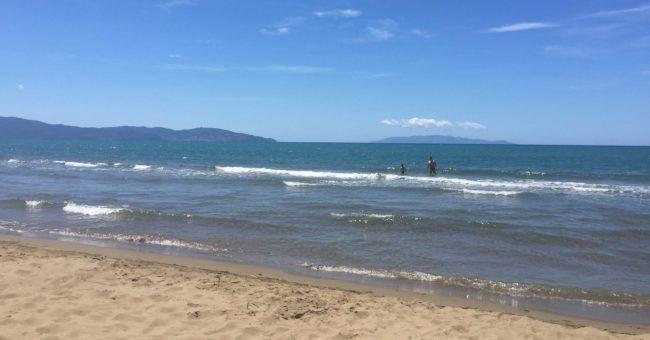 italiainpiega-pieghe meravigliose-itinerari moto centro italia-argentario-spiaggia dell'osa 1
