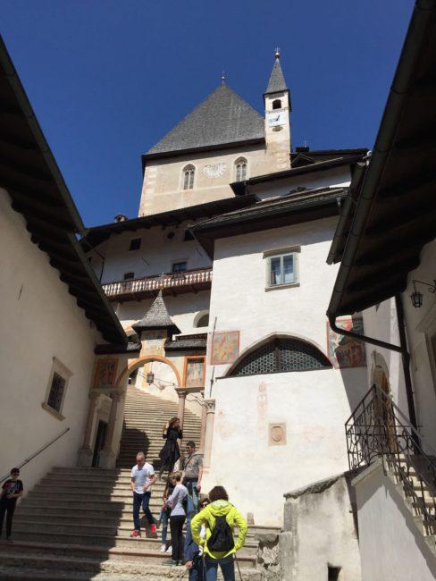 italiainpiega-pieghe meravigliose-itinerari moto nord italia-val di non-santuario san romedio 1